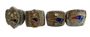 YIYICOOL Four Rings New England Super Bowl 49 XLIX Replica