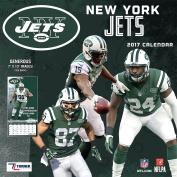 Turner Licencing Sport 2017 New York Jets Mini Wall Calendar