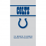 Turner Perfect Timing 2015 Indianapolis Colts 16-Month Planner