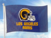 Los Angeles Rams RETRO Design 3x5 Flag w/Grommets Outdoor House Banner Football