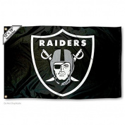 Oakland Raiders Boat and Golf Cart Flag