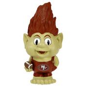 NFL San Francisco 49ers Large Garden Troll