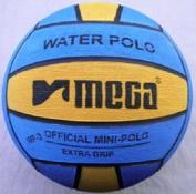 MEGA Water Polo ball, size 3,blue-yellow mini polo ball