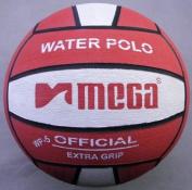 Water Polo Ball. Mega. Red-White design. Size 5