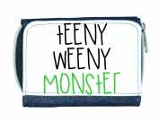 Teeny Weeny Monster Matching Family Set Ladies Purse - Blue