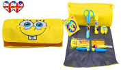 Spongebob Squarepants Filled Pencil Case, Perfect For School!