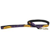 Minnesota Vikings Pet Dog Premium 1.8m Nylon Leash Lead Licenced MEDIUM