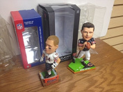 Brian Urlacher and Mike Ditka Chicago Bears Bobblehead Lot NFL Bobble