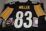 Heath Miller Signed Pittsburgh Steelers Jersey! JSA Certification & Picture From Signing