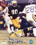 Ezra Johnson Autographed/ Original Signed Colour 8x10 Photo -Member Green Bay Packers Hall of Fame