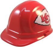 NFL Kansas City Chiefs Hard Hats with Ratchet Suspension