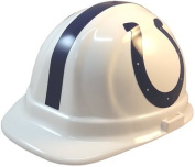 NFL Indianapolis Colts Hard Hats with Ratchet Suspension