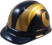 NFL Los Angeles Rams Hard Hats with Ratchet Suspension