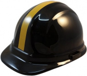 NFL Pittsburgh Steelers Hard Hats with Ratchet Suspension