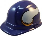 NFL Minnesota Vikings Hard Hats with Ratchet Suspension