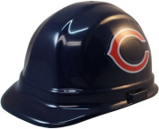 NFL Chicago Bears Hard Hats with Ratchet Suspension