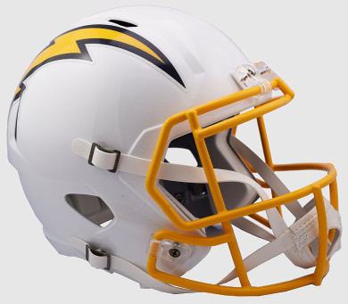 San Diego Chargers Riddell Speed Replica Colour Rush Football Helmet