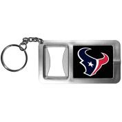 NFL Houston Texans Flashlight Key Chain with Bottle Opener