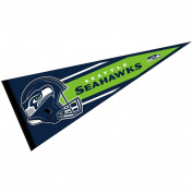 Seattle Seahawks Official NFL 80cm Large Pennant