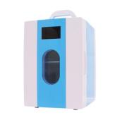 DD 10L Car Home Student Dormitory Mini Refrigerator , Blue,blue