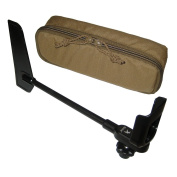 Kestrel 5000 Series Rotating Vane Mount and Tactical MOLLE Carry Case, HST Series, Berry Compliant, Black