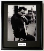 JOHNNY CASH/FRAMED PHOTO (4)
