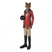 This Dressed Fox Ornament in fine hunting dress is a stunning piece for any side table, bookcase or sideboard. 32cm h x 9cm