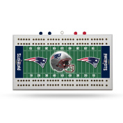 New England Patriots Cribbage Board by Rico Tag