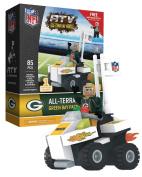 Green Bay Packers NFL 4 Wheel ATV with Super Fan OYO Mini Figure