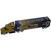 Press Pass St. Louis Rams Tractor Trailer 1:80 Scale