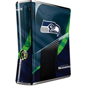 NFL Seattle Seahawks Xbox 360 Slim (2010) Skin - Seattle Seahawks Vinyl Decal Skin For Your Xbox 360 Slim