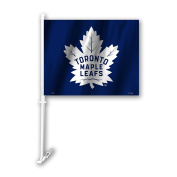 NHL Toronto Maple Leafs Unisex NHL Car Flagnhl Car Flag, Blue, One Size
