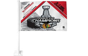 Chicago Blackhawks NHL 2015 Stanley Cup Champions Car Flag- 9706