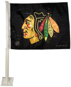NHL Chicago Blackhawks Car Flag