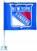 NHL New York Rangers Car Flag