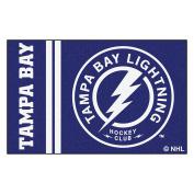 FANMATS 19277 Tampa Bay Lightning Uniform Starter Rug, Team Colour, 48cm x 80cm