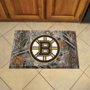 FANMATS 19127 Team Colour 48cm x 80cm Boston Bruins Scraper Mat