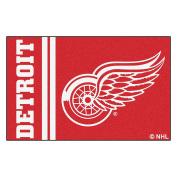 FANMATS 19262 Detroit Red Wings Uniform Starter Rug, Team Colour, 48cm x 80cm