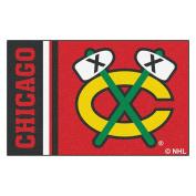 FANMATS 19258 Chicago Blackhawks Uniform Starter Rug, Team Colour, 48cm x 80cm