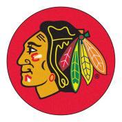 FANMATS 17216 NHL Chicago Blackhawks Puck Mat