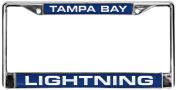 NHL Tampa Bay Lightning Laser Cut Chrome Plate Frame