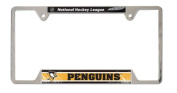 NHL Pittsburgh Penguins 15cm x 30cm Metal Licence Plate Frame by WinCraft