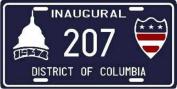 Franklin D. Roosevelt FDR 1937 Inauguration Washington DC Replica Licence Plate