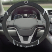 FANMATS 17165 NHL - Los Angeles Kings Steering Wheel Cover