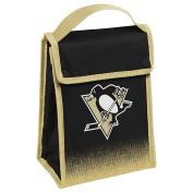 Pittsburgh Penguins Gradient Hook and loop Lunch Bag
