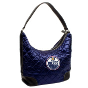 NHL Edmonton Oilers Team Colour Quilted Hobo