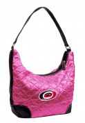 NHL Carolina Hurricanes Pink Quilted Hobo