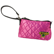 NHL Dallas Stars Pink Quilted Wristlet