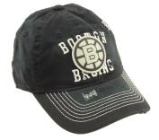NHL Men's Boston Bruins Vintage Flex Fit Hat, Black