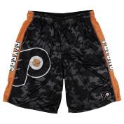 KLEW NHL Philadelphia Flyers Big Logo Polyester Shorts, Large, Black